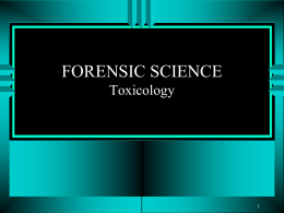 forensic science - McEachern High School