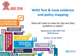 Guidelines - View the full AIDS 2016 programme