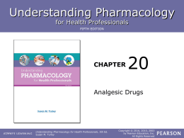 Chapter 20 Lesson 2 - ROP Pharmacology for Health Care