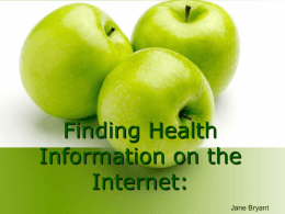 Accessing Critical Health Care Information