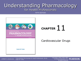 Chapter 11 lesson 3 - ROP Pharmacology for Health Care