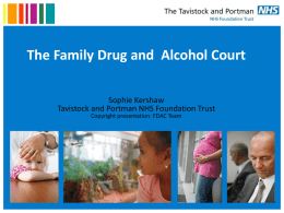 to read report: The Family Drug and Alcohol Court – Sophie Kershaw