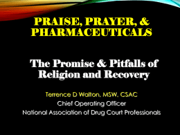 Praise, Prayer, and Pharmaceutical 2016 handout version