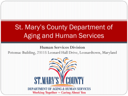 Human Services Division Overview