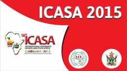 Track B Report Final - ICASA 2015 Zimbabwe