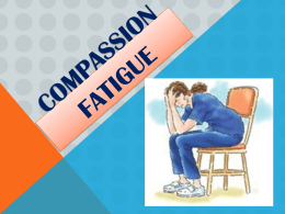 Compassion Fatigue - Claudette D. Johnson