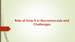 Management of Mucormycosis in ENT Practice