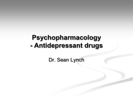 antidepressant drug essay Mcallister-williams states that the magnitude of therapeutic difference is the difference between drug and placebo, not absolute response to active drug and thus kirsch's study in fact supports the idea that antidepressants efficacy increases with depression severity [mcallister-williams, 2008.