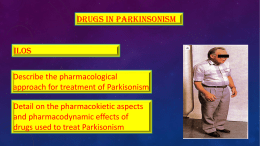 9-Drugs used for treatment of Parkinsonismx2015-10