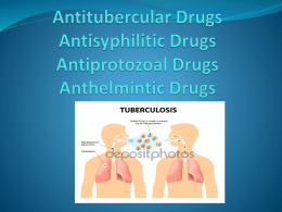 Antitubercular Drugs