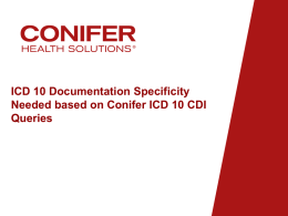 Infectious Disease ICD 10 Speciality 7-17-15x