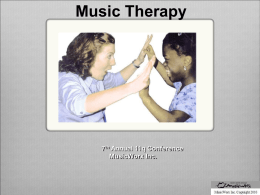 Music Therapy Presentation
