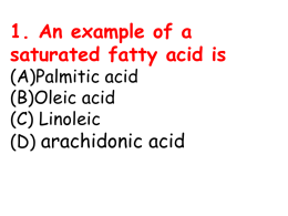 4. Essential fatty acid