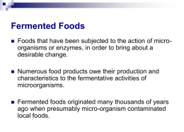 Powerpoint slides - New Zealand Institute of Food Science