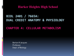 PowerPoint to accompany Hole's Human Anatomy and