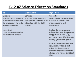 K-12 Education Standards - Physicians for Social
