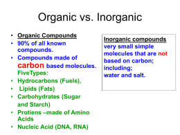 organic compounds ppt