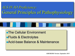 ALS IV-IO Prof General Principles Of Pathophysiology Powerpoint