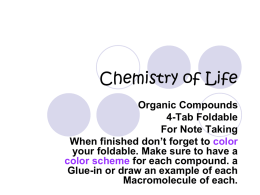 Chemistry of Life - Haughton Science