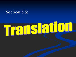 Translation Notes 2015 - Liberty Union High School District