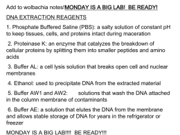 notes for mondays lab