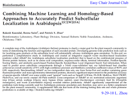 Combining Machine Learning and Homology-Based