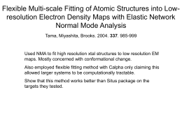 Flexible Multi-scale Fitting of Atomic Structures into Low