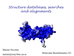Web resources in structural biology