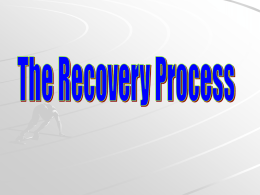 Recovery Process2