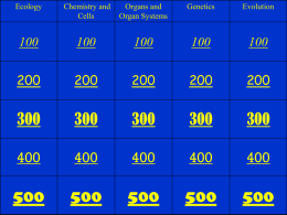 Final Review Jeopardy