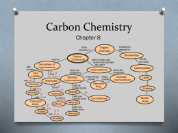Carbon Chemistry PowerPoint