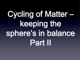 1.3.Cycling of Matter Part2x