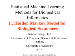 cheng_hmm_bioinfo - University of Missouri