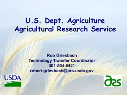 USDA Technology Transfer Program - FLC Mid