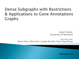 Finding Meaningful Patterns in Gene Annotation Graphs