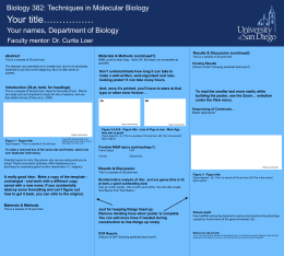bio382_ppt_template - University of San Diego Home Pages
