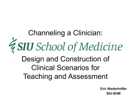 pptx - SIU School of Medicine