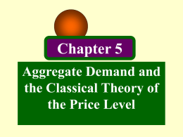 The Theory of the Demand for Money
