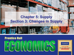 Chapter 5: Supply Section 3