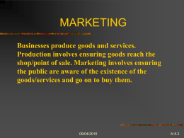 PPT N5.2 Marketing Research
