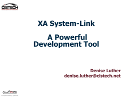 System-Link Workshop for Programmers