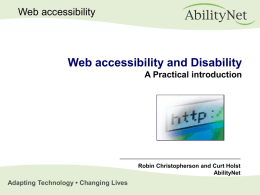 Disability Discrimination Act 1995 Part 4