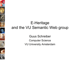 E-Culture: Challenging Use Cases for the Semantic Web