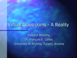 Virtual Classrooms