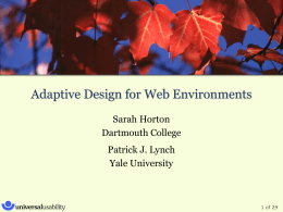 Slides (Horton) - Dartmouth College