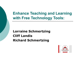Enhance Teaching and Learning with Free