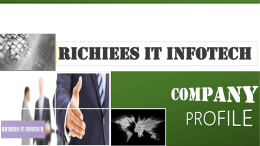 richiees it infotech