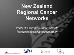 NZ Cancer Networks