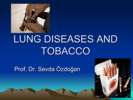 Lung Diseases and Tobacco