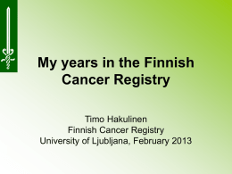 Finnish Cancer Registry